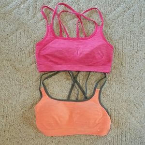 Set of 2 Danskin sports bras. Size Small/Medium